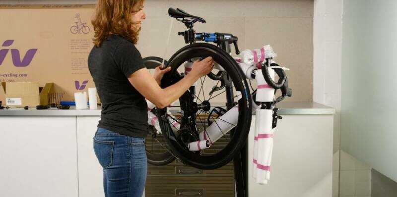 How To Pack A Bike For Moving Outside