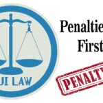 Penalties for a First DUI